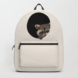 Socially Anxious Raccoon Backpack