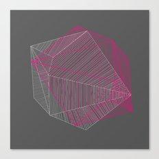 Shapes N Stripes Canvas Print
