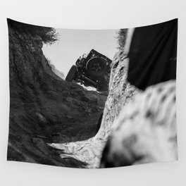 PUSH THROUGH Wall Tapestry