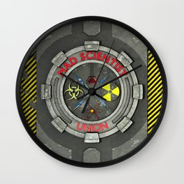 Mad Scientist Union Wall Clock