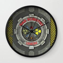 Mad Scientist Union Wall Clock