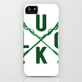 Luck For St. Patrick's Day iPhone Case