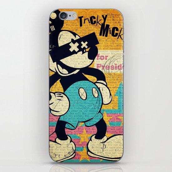 Tricky Mickey iPhone & iPod Skin