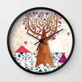 Mysterious tree Wall Clock