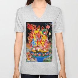Hindu Goddess Chhinnamasta Vajrayogini Mahavidyas Unisex V-Neck