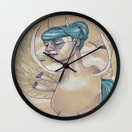 PEGASUS Wall Clock