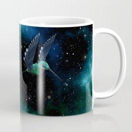 Space Hummingbird Coffee Mug