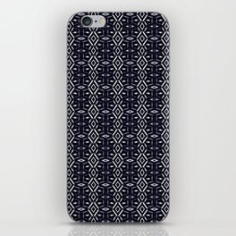 Meshed (Midnight) iPhone Skin