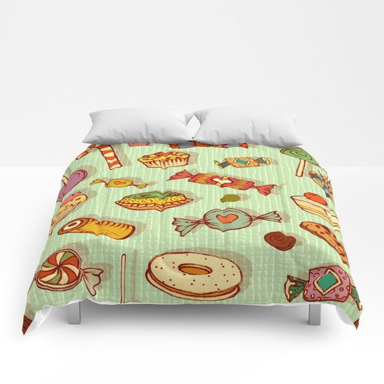 candy and pastries Comforters