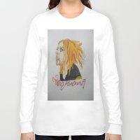 tim shumate Long Sleeve T-shirts featuring Tim Minchin. by TheArtOfFaithAsylum
