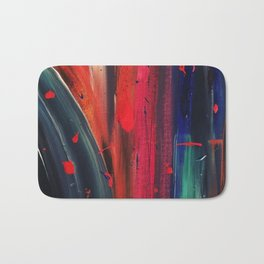 Acrylic pattern Bath Mat