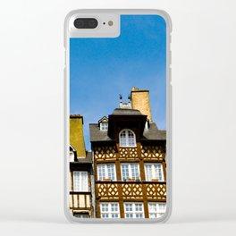 Places des Lices Clear iPhone Case
