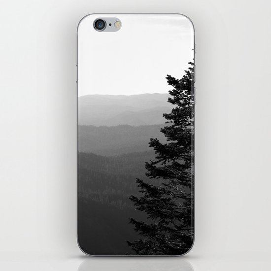 Mountain Layers iPhone & iPod Skin