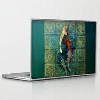 koi Laptop & iPad Skins featuring Koi by Elsa Herrera-Quinonez