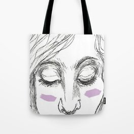 The Age of Recovery Warpaint Girl Tote Bag