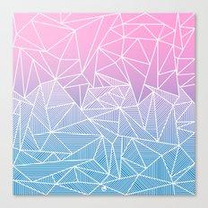 Barika Rays Canvas Print