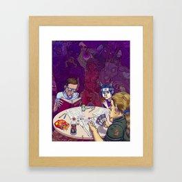 Evil Games Framed Art Print