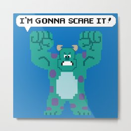 I'm Gonna Scare It! Metal Print