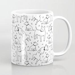 Happy bull terriers Coffee Mug