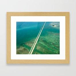 Seven Mile Framed Art Print