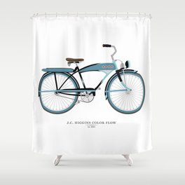 Vintage J.C. Higgins Bike Shower Curtain