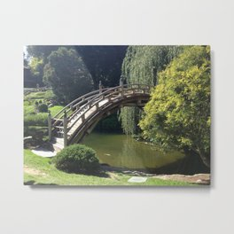 Bridge Over Non-Troubled Waters Metal Print