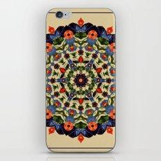 Flower and Fruit Collage Mandala iPhone & iPod Skin