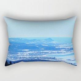 Coastal Villages and Windmills Rectangular Pillow