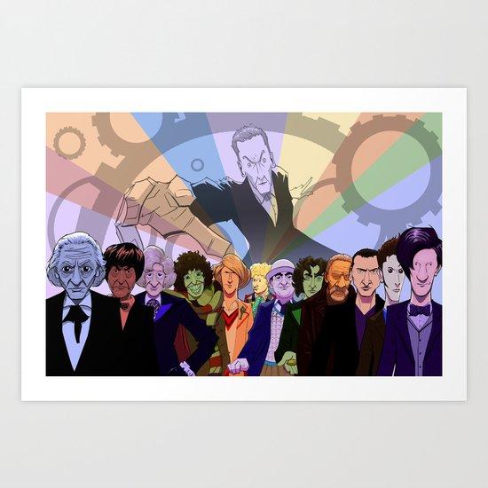 All The Doctors Art Print