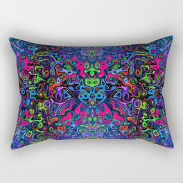 Dye Fluo Liquify Rectangular Pillow