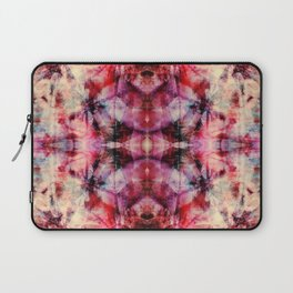 Colorful Abstract Batik Butterfly Rorschach Ink Blot Art Space Galaxy No6 Laptop Sleeve