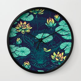 Lotus Eater Wall Clock
