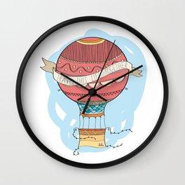 Air balloon Wall Clock