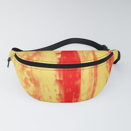 Gerhard Richter Inspired Abstract Urban Rain 3 Fanny Pack