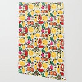 Puppical Fruits Wallpaper