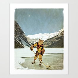 "The Vancouver ""Cat""nucks Art Print"