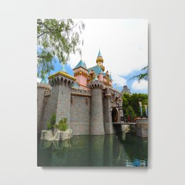 Sleeping Beauty's Castle (Daytime, no.1) Metal Print