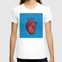 anatomical heart T-shirts featuring Vintage Anatomical Heart Illustration by Digital Crafts