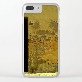 34 Clear iPhone Case