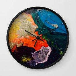 El Nino Abstract Wall Clock
