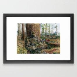 Ambush Framed Art Print