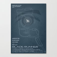 BLADE RUNNER (Voight Kampf Test Version) Canvas Print