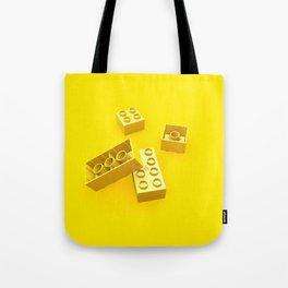 Duplo Yellow Tote Bag