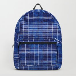 Polycrystalline Solar Panels Watercolor Painting Backpack
