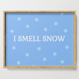 The Snow Lover Serving Tray