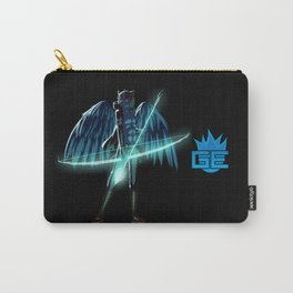 Luc Ready for Battle (Black/Dark Background) Carry-All Pouch