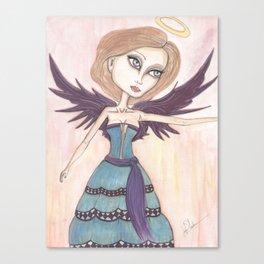 Angel Rose Canvas Print