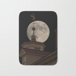 Moon Over Mount Vernon Bath Mat