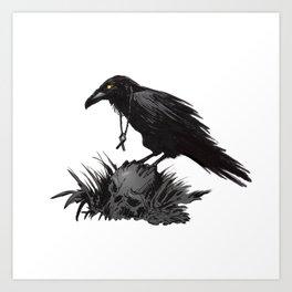 Death Poetry Art Print