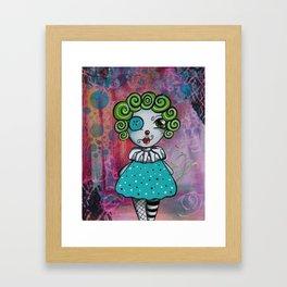 Best Birthday Party Clown EVER! Framed Art Print